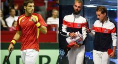 España vs Francia semifinal Copa Davis