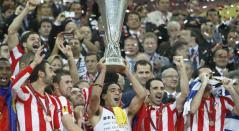 Atlético de Madrid levanta la segunda Europa League de su historia
