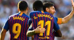 Jugadores del FC Barcelona