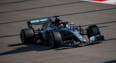 Lewis Hamilton, piloto del escudería Mercedes de la F1