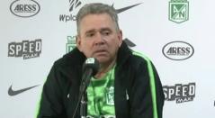 Hernán Darío Herrera, técnico interino de Nacional
