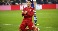 James marcó gol e hizo 'blooper' en la victoria del Bayern