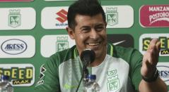 Jorge Almirón, extécnico de Atlético Nacional