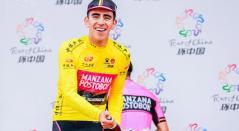Juan Sebastián Molano se coronó campeón del Tour de China