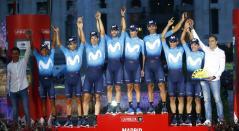 Movistar Team Campeón de la Vuelta a España