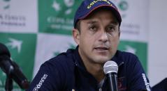 Pablo González, capitán del equipo colombiano para la Copa Davis
