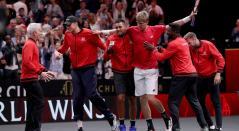 El resto del Mundo acorta distancias frente a Europa en Laver Cup