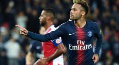Neymar, jugador del PSG