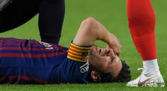 Messi quedó en duda para el clásico ante Real Madrid del próximo fin de semana