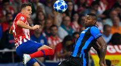 Santiago Arias debutó oficialmente con el Atlético de Madrid en la Champions League