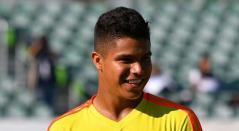 Juan Camilo el 'Cucho Hernández debutó con doblete en la Selección Colombia