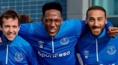 Yerry Mina tendría minutos ante Crystal Palace con el Everton