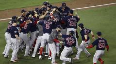 Los Medias Rojas, campeones de la Serie Mundial de Beisbol