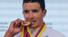 Robinson Chalapud, ciclista colombiano