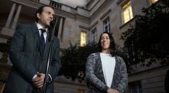 Ernesto Lucena y Mariana Pajón