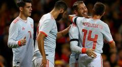 España venció a Gales en el partido amistoso por 4-1