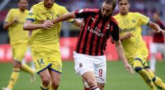 Gonzalo Higuaín, delantero del AC Milan