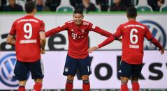 Lewandowski, James y Thiago