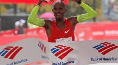 Mo Farah engrandeció su leyenda ganando la Maratón de Chicago