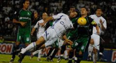 Once Caldas y La Equidad durante la final de la Copa Colombia en el 2008