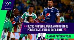 Carlos Antonio Vélez criticó la situación futbolística de Millonarios bajo el comando de Miguel Ángel Russo