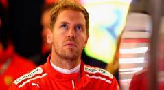 Sebastián Vettel, piloto de Ferrari
