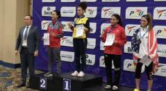 Andrea Ramírez, oro en la en la President's Cup de Taekwondo