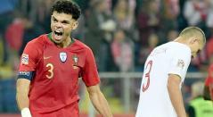 Portugal, sin Ronaldo, venció a Polonia y lidera su grupo en la Nations League