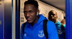 Yerry Mina sigue sin actuar en la Premier League con el Everton