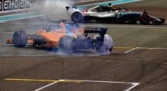 Homenaje a Fernando Alonso en el Gran Premio de Abu Dhabi de Fórmula 1