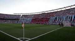 El estadio Monumental a la espera del River Plate Vs Boca Juniors en la final de la Copa Libertadores