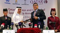 Qatar Airways será la aerolínea de la CONMEBOL