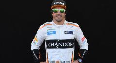 Fernando Alonso antes de la última carrera que disputó en la Fórmula 1