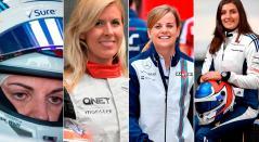 Solo diez mujeres pilotos han manejado un auto de Fórmula 1