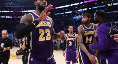 LeBron James, figura de los Lakers