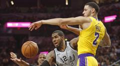 Spurs de San Antonio y los Ángeles Lakers