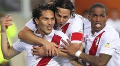 Jugadores de la Selección de Perú