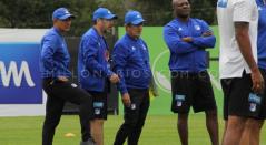 Primer entrenamiento de Jorge Luis Pinto en Millonarios