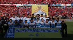 Formación del Junior antes de la finalísima ante el Independiente Medellín