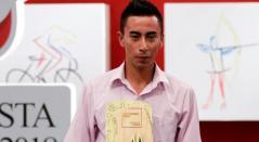"""El colombiano Iván Ramiro Sosa """"feliz"""" con su estreno en el Sky"""