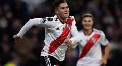 Juan Fernando Quintero, delantero colombiano al servicio de River Plate