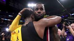 LeBron James y el escolta Dwyane Wade, dos excompañeros y grandes amigos acaparó la atención en la jornada de la NBA,