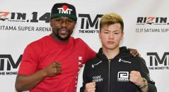 Floyd Mayweather y Tenshin Nasukawa