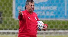 Jorge 'Polilla' Da Silva dirigiendo al América