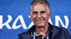 Carlos Queiroz, técnico portugués de fútbol