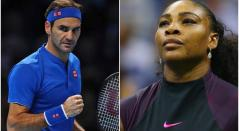 Roger Federer y Serena Williams