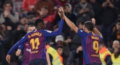 Barcelona vs Leganés, Liga Española