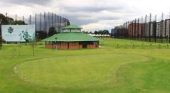 Campo público de golf de la Federación Colombiana de Golf en Bogotá.