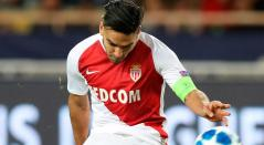Falcao ingresó al minuto 70 del partido de Mónaco ante Niza