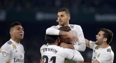 Real Madrid vs Sevilla, liga española